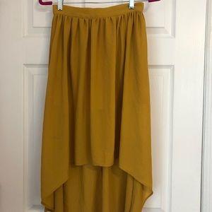 Forever 21 sheee high low skirt
